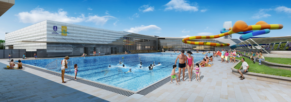 Multi million dollar western australian aquatic and recreation complex to be known as cockburn - Arc swimming pool ...