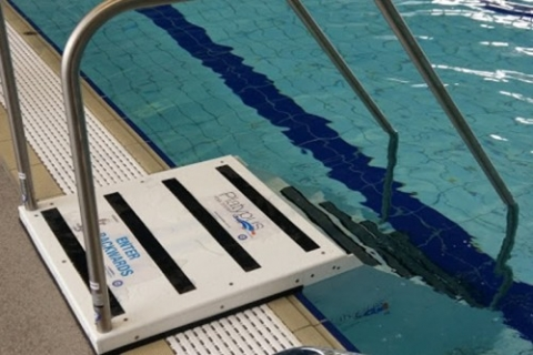innovation swimming pool steps. New steps improve access to Cockburn ARC pool  Australasian Leisure