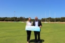 $3.5 million backing for regional sporting facilities in Western Australia