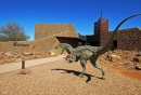 Open-air dinosaur museum launches in western Queensland