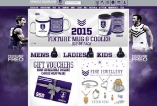 AFL online stores get new look for 2015