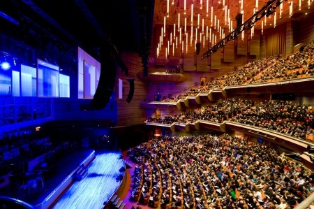 new hamer hall welcomes almost 400 000 patrons in first. Black Bedroom Furniture Sets. Home Design Ideas
