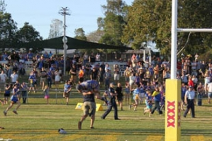 Footy brawls put focus on security and alcohol management at communit