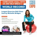 Fitness & Health Expo and Michelle Bridges aim to stage world's largest fit ball class