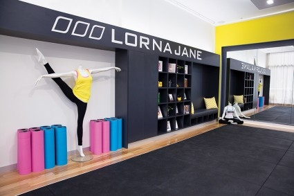 lorna jane living room lorna to open active living lounge at sydney 14003