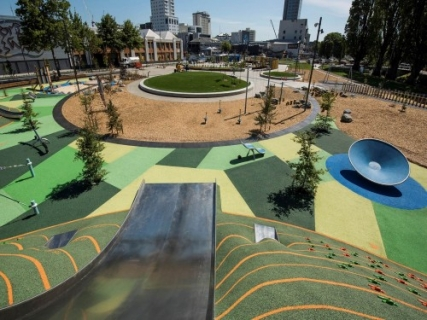 New zealand introduces updated playground standards for Innovative landscapes christchurch