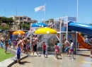 New waterslides and aquatic play area prooves popular at Moonta Bay