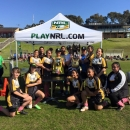 Record growth in women's rugby league