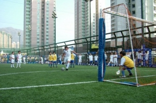 China to build 60,000 football fields by 2020