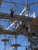 Aerial adventure park open in Sydney's west