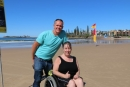 Sunshine Coast beach introduces water access for people with disabilities