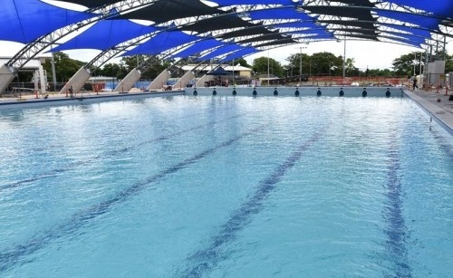 Builder Hands Over Redeveloped Tobruk Memorial Pool In