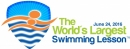 Organisers announce new 24-hour window for the 2016 World's Largest Swimming Lesson